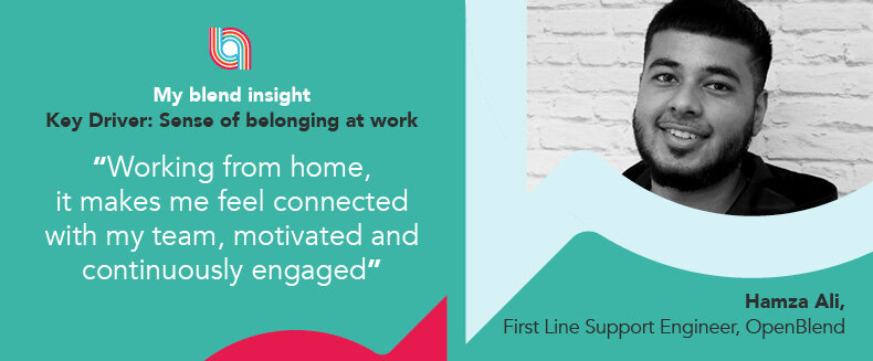 Blend Insights: Sense of belonging at work