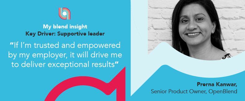 Blend Insights: Supportive Leader