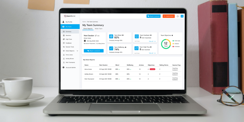 Enabling managers to build high-performing engaged teams with the all-new manager dashboard