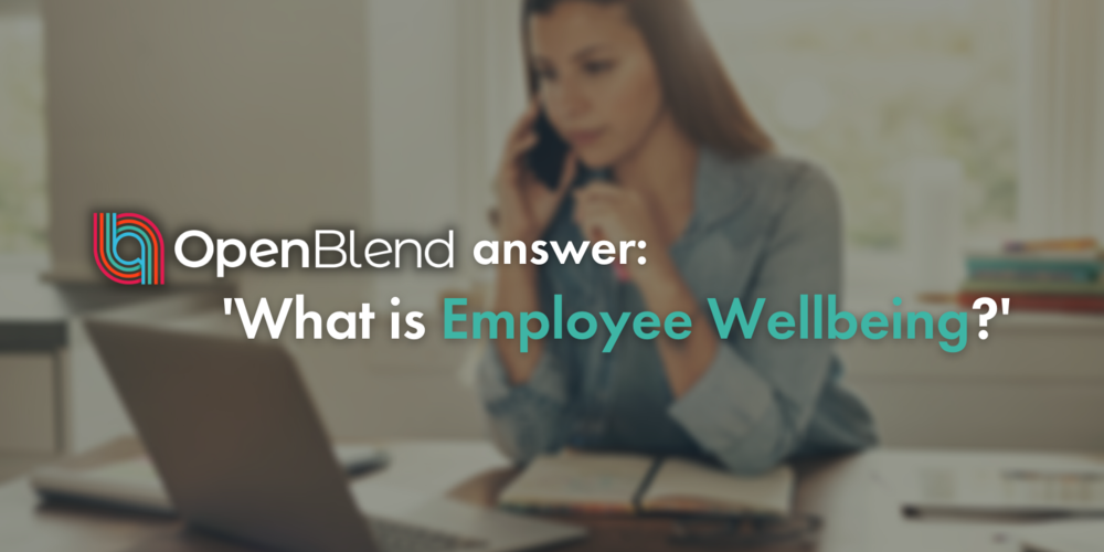 OpenBlend answer: what is employee wellbeing?