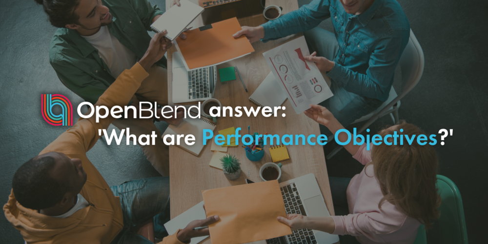 OpenBlend Answer: what are employee performance objectives?