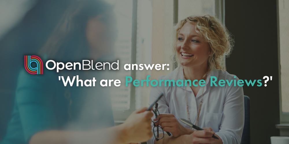 OpenBlend answer: what are employee performance management reviews?