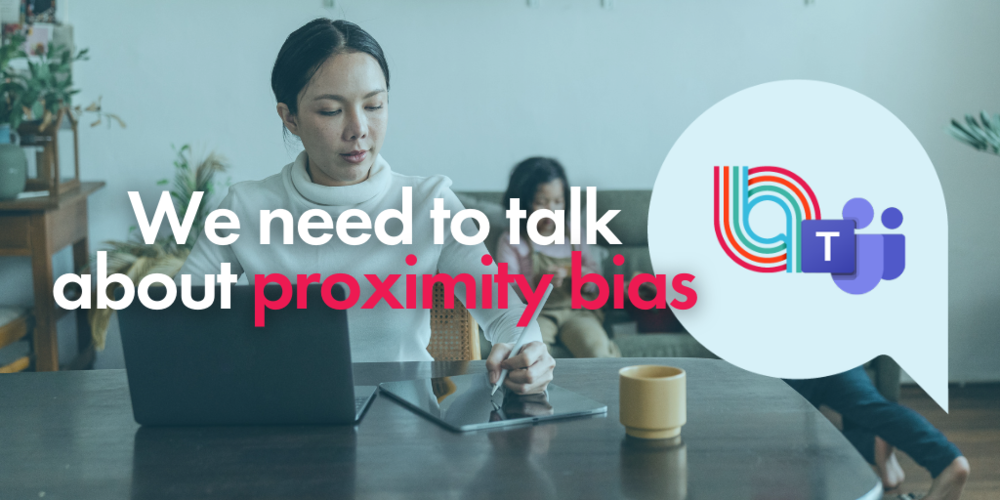 We need to talk about proximity bias